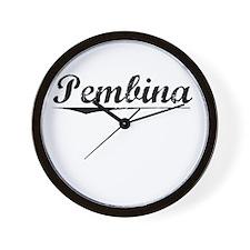 Pembina, Vintage Wall Clock