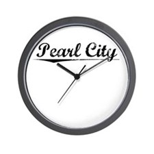 Pearl City, Vintage Wall Clock