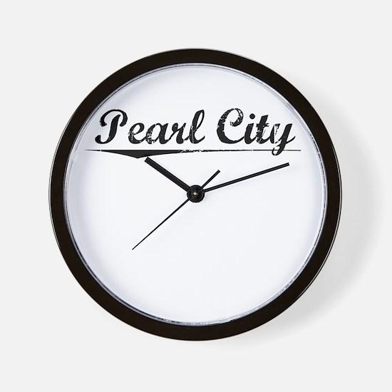 Pearl City, Vintage Wall Clock
