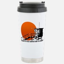 Lifeguard Sun Stainless Steel Travel Mug