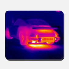 Porsche car, thermogram Mousepad