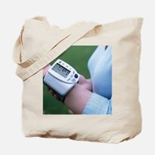Portable blood pressure monitor Tote Bag