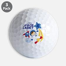 Astronaut is 4 Golf Ball