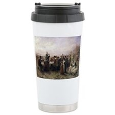 the first thanksgivng Travel Mug
