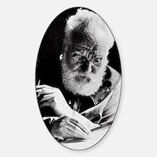 Portrait of Alexander Graham Bell Decal