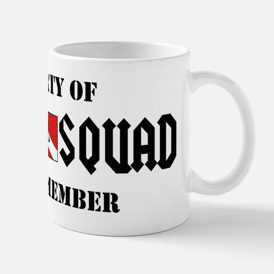 SCUBA SQUAD Mugs