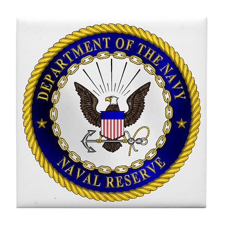 US Navy Reserve Tile Coaster