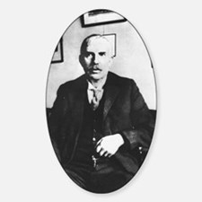 Portrait of Ernest Rutherford Decal