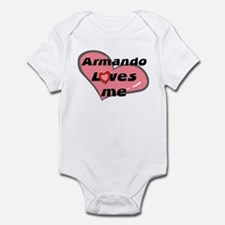 armando loves me  Infant Bodysuit