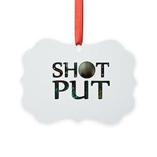 Shot Put Ornament