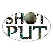 Shot Put Decal