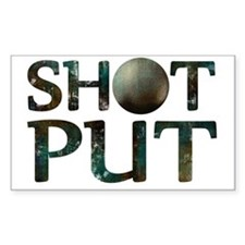 Shot Put Decal