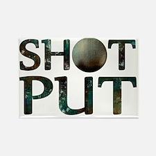 Shot Put Rectangle Magnet