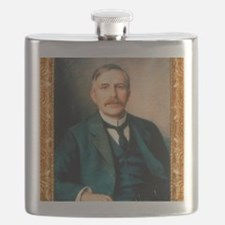 Portrait of physicist Ernest Rutherford, 191 Flask
