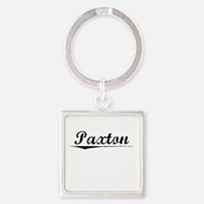 Paxton, Vintage Square Keychain