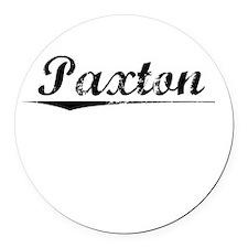 Paxton, Vintage Round Car Magnet