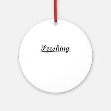 Pershing, Vintage Round Ornament