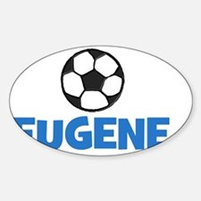 EUGENE - SOCCER BALL - Custom Name Decal