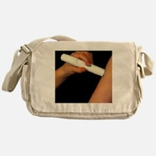 Powderject needleless injection pres Messenger Bag