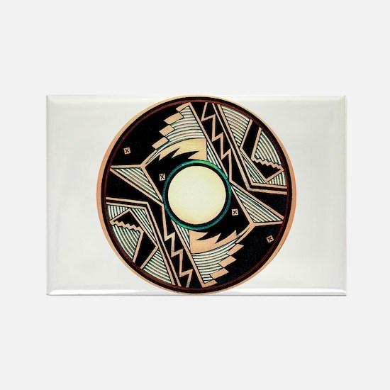 MIMBRES EXIT BOWL DESIGN Rectangle Magnet