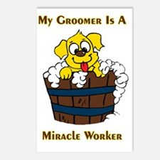 My Groomer is a Miracle W Postcards (Package of 8)