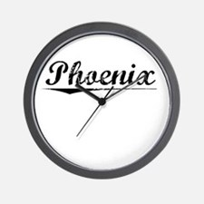 Phoenix, Vintage Wall Clock
