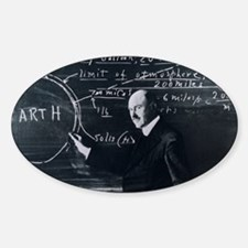 Portrait of American physicist, Rob Sticker (Oval)