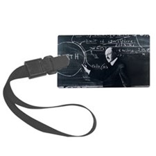Portrait of American physicist,  Luggage Tag