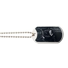 Portrait of American physicist, Robert Go Dog Tags