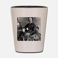 Portrait of Clara Barton Shot Glass