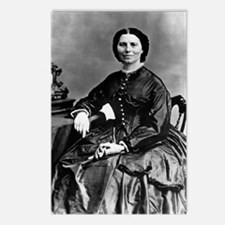 Portrait of Clara Barton Postcards (Package of 8)