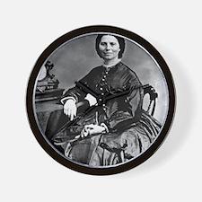 Portrait of Clara Barton Wall Clock