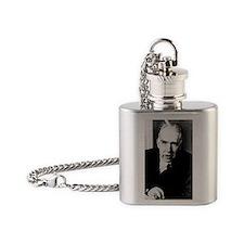 Portrait of Niels Bohr Flask Necklace