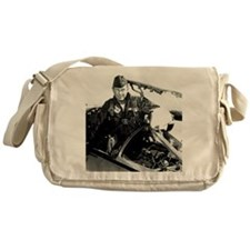 Portrait of Charles Chuck Yeager, Am Messenger Bag