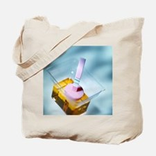 Positive pregnancy test Tote Bag