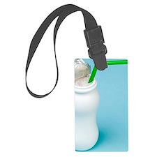 Prebiotic and probiotic yoghurt  Luggage Tag