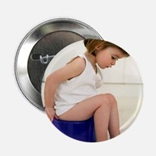 "Potty training 2.25"" Button"