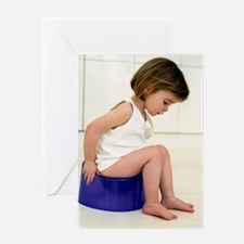 Potty training Greeting Card