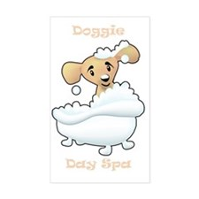 Diggie Day Spa Decal