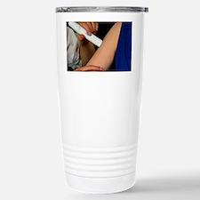 Powderject needleless injection Travel Mug