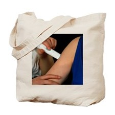 Powderject needleless injection pressed o Tote Bag