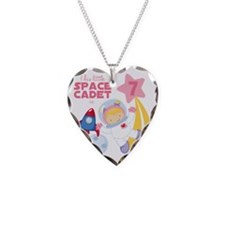 Girl Astronaut is 7 Necklace