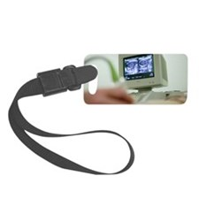 Pregnancy ultrasound Luggage Tag