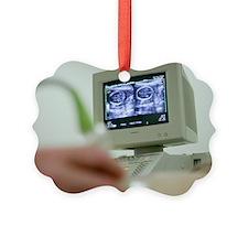 Pregnancy ultrasound Ornament