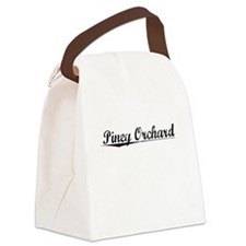 Piney Orchard, Vintage Canvas Lunch Bag
