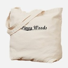 Piney Woods, Vintage Tote Bag