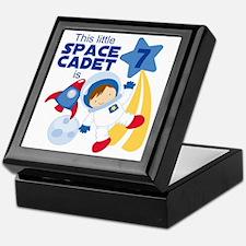 Astronaut is 7 Keepsake Box