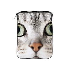 Cat, close-up iPad Sleeve