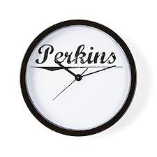 Perkins, Vintage Wall Clock