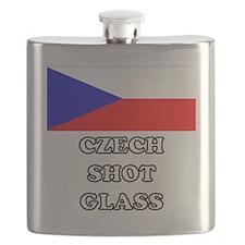 Czech Shot Glass Flask